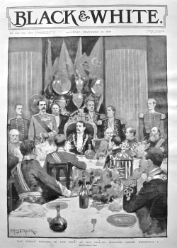 The Sirdar Replies to the Toast of His Health, Mansion House, November 4. 1898.
