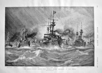 The Anglo-French Crisis : The French Armed Squadron of the North. 1898.