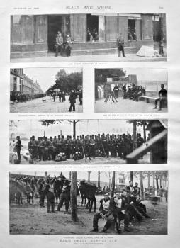Paris under Martial Law. 1898.