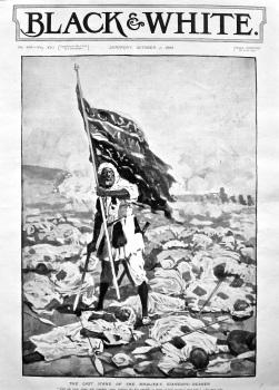The Last Stand of the Khalifa's Standard-Bearer. 1898.