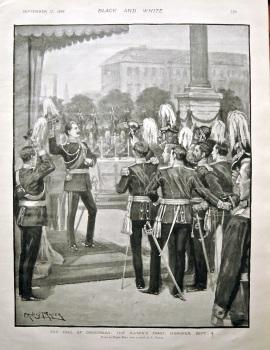The Fall of Omdurman : The Kaiser's Toast, Hanover, Sept. 4. 1898.