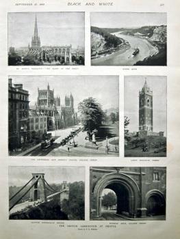 The British Association at Bristol. 1898.