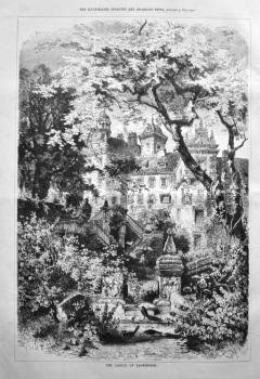 The Castle of Lauenstein. 1879.