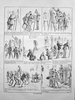 """Studenting."" 1898."