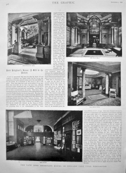 Lord Leighton's House : A Gift to the Nation. 1898.