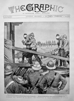 """Crossing the """"Bridge of Al Sirat"""" : The Execution of Three Murderers at Candia. 1898."""