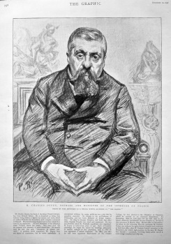M. Charles Dupuy, Premier and Minister of the Interior  of France. 1898.