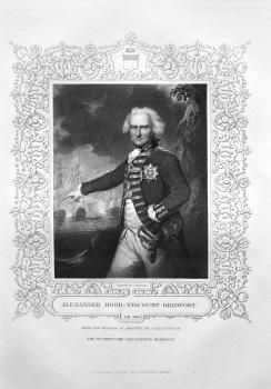 Alexander Hood, Viscount Bridport.