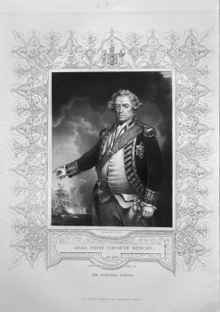 Adam, First Viscount Duncan. OB. 1804. From the Original of Hoppner in the Guildhall London.