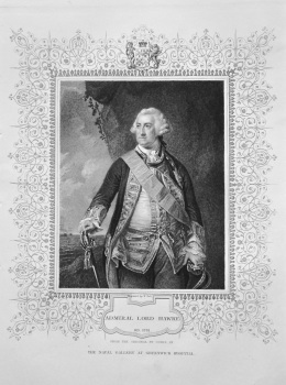 Admiral Lord Hawke. OB. 1781. From the original by Cotes, in The Naval Gallery at Greenwich Hospital.