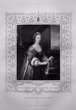 Blanch Somerset, Baroness Arundel of Wardour.  OB. 1649.  From the collection of The Right Hon. Lord Arundel of Wardour.