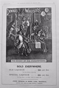 Dewar's Whisky. 1897.