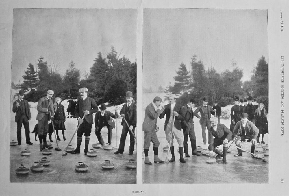 Curling. 1897.