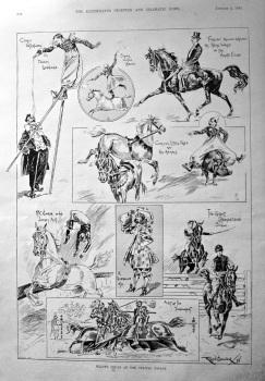 Wulff's Circus at the Crystal Palace. 1897.