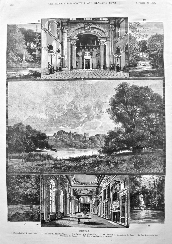 Blenheim. 1896.