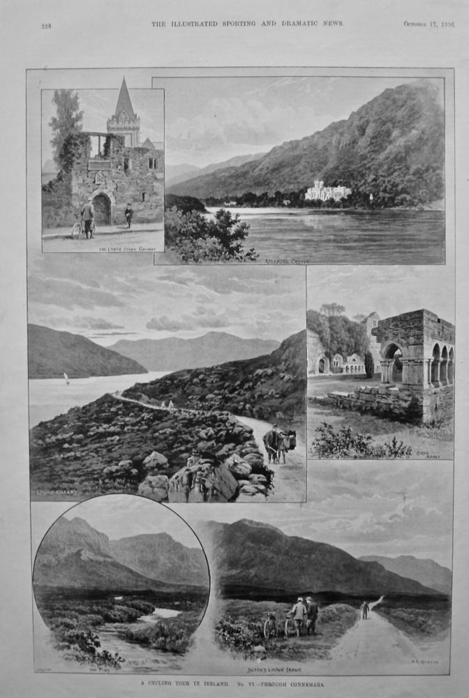 A Cycling Tour in Ireland.  No. VI.- Through Connemara.  1896.