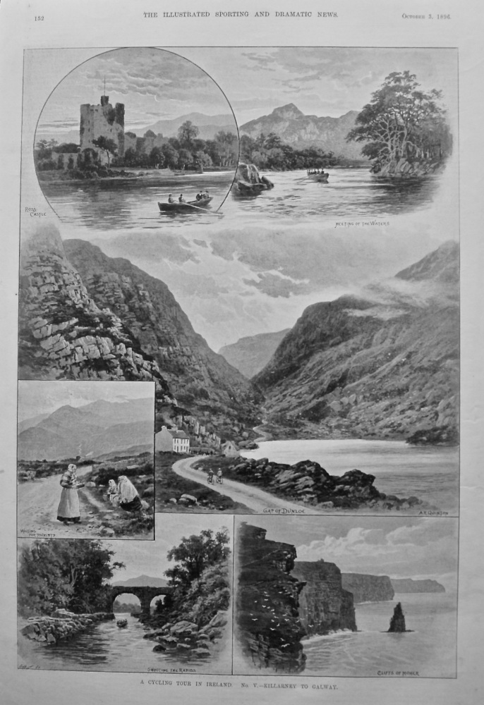 A Cycling Tour in Ireland.  No. V.- Killarney to Galway.  1896.