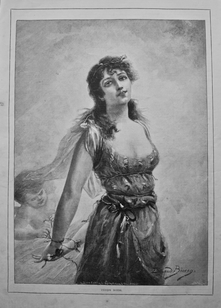 Cupid's Bonds.  1896.