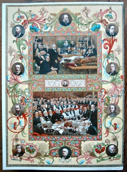 Diamond Jubilee of Queen Victoria. (Chromo-Lithographic Plate  No. X.)  1897.