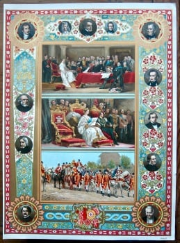 Diamond Jubilee of Queen Victoria.  (Chromo-Lithographic Plate No. III.) 1897.