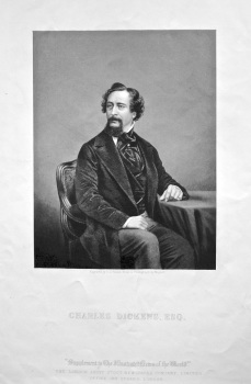 Charles Dickens, Esq. 1858c.