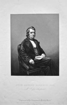 John Arthur Roebuck, Esq. MP. for Sheffield.  1858c