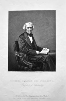 Michael Faraday, Esq.  F.R.S.  D.C.L.  Professor of Chemistry.  1858c.