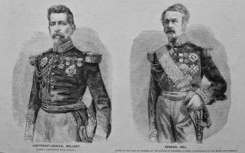 Lieutenant-General Mellinet.  &  General Niel.  1859.