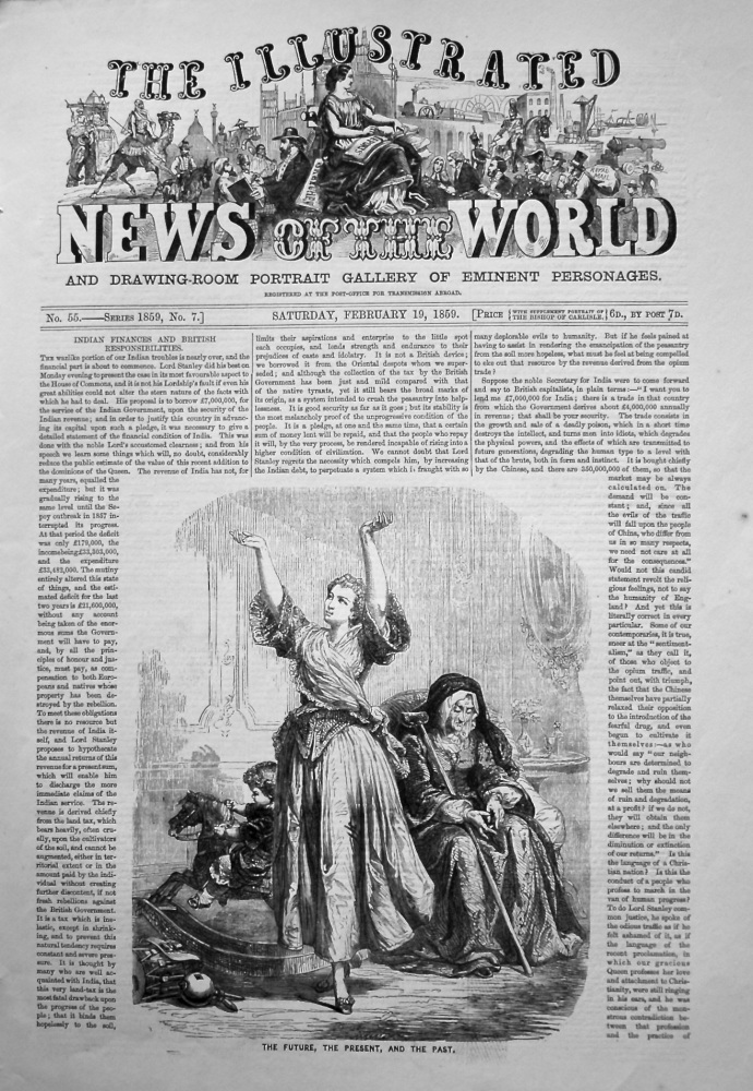 The Illustrated News of the World, February 19th, 1859.