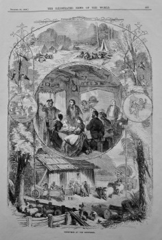 Christmas at the Antipodes. 1858.