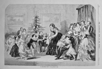 A Christmas Party - The Lottery Bag. 1858.