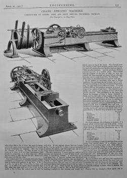 Crank-Bending Machine. 1901.