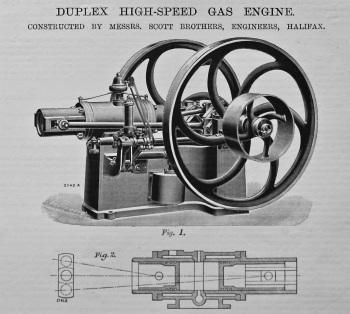 Duplex High-Speed Engine. 1895.