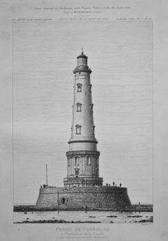 Phare De Cordouan. 1878.