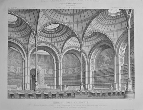 Bibliothèque Nationale. 1878.