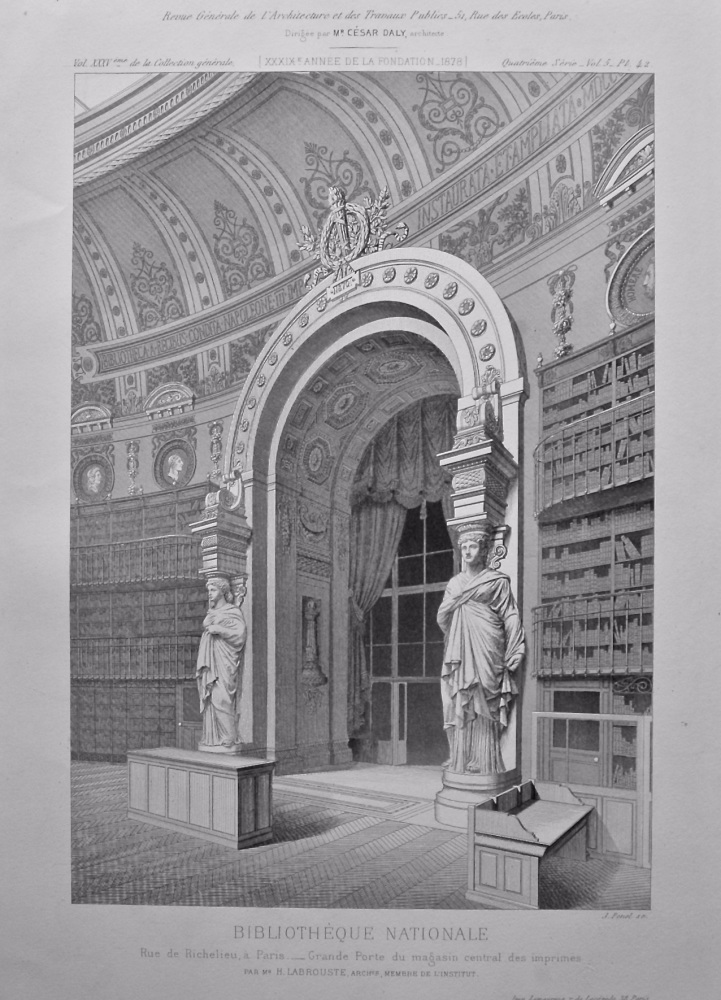 Bibliotheque Nationale. 1878.