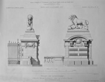 Palais De Longchamp. 1878.