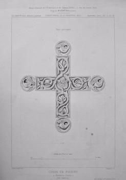Croix en Pierre. 1875