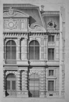 Mairie, du 4 eme Arrondissement, a Paris. 1872.