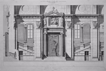 Palais De Justice, a Paris.. 1867.