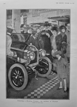 Choosing a Wedding Present : An Incident at Olympia.  1907.