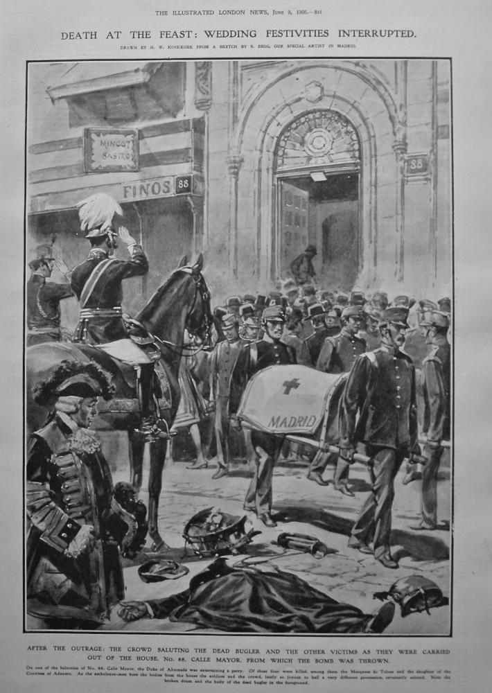 Death at the Feast : Wedding Festivities Interrupted. 1906.