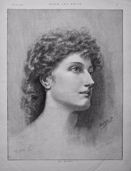 My Model. 1892.