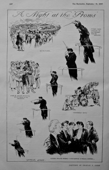 """A Night at the """"Proms"""" 1907."""