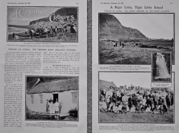 Tristan Da Cunha, the Empire's most Isolated Outpost. 1907.