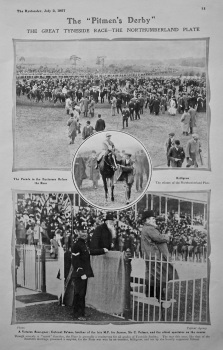 "The ""Pitmen's Derby"" : The Great Tyneside Race-The Northumberland Plate. 1907."