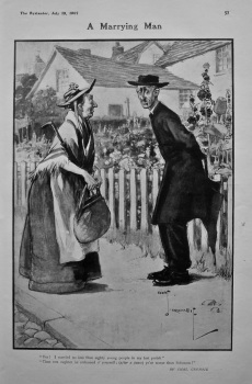 A Marrying Man. 1907.