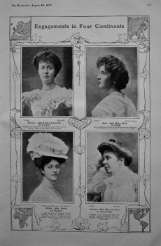 Engagements in Four Continents. 1907.