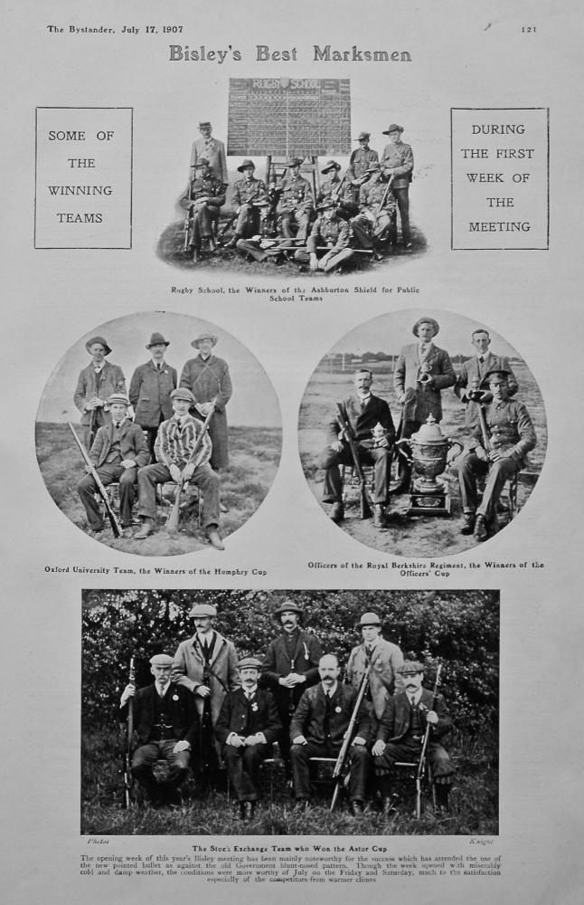 Bisley's Best Marksmen. 1907.