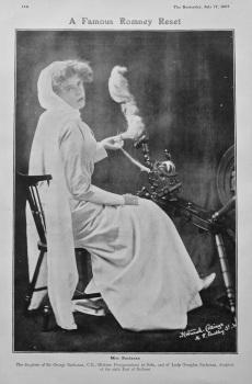 A Famous Romney Reset : Miss Buchanan. 1907
